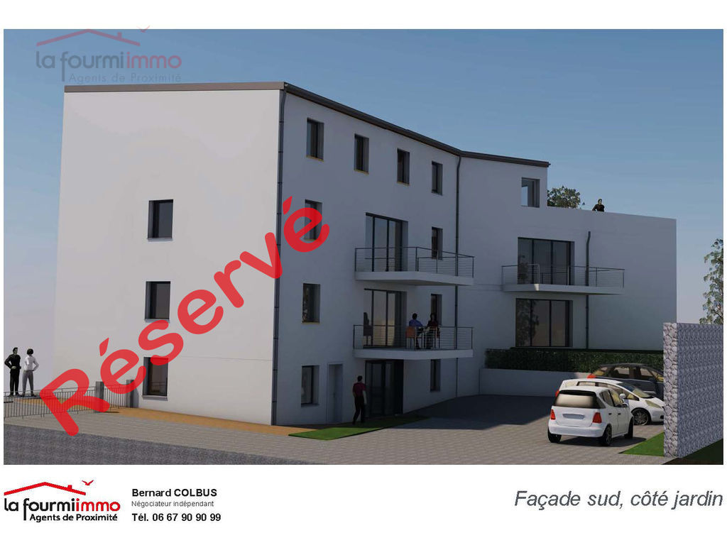 Vente appartement 57220 Boulay - Facade sud reserv