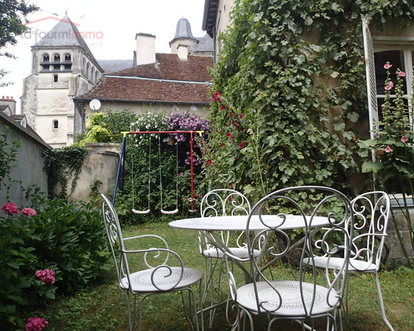 Maison de maitre à Bar sur Seine - Photo jardin
