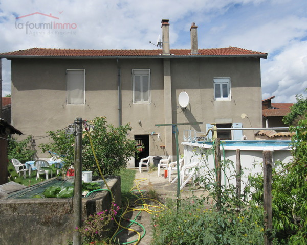 Maison de village Terrain 800 m²+piscine +source - Img 2204