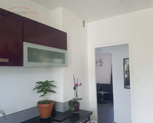 Appartement traversant 2 Ch - Toulon Les Routes - Cuisine vue salon 3