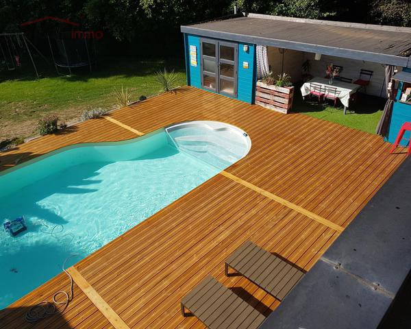 Maison d'architecte aux beaux volumes - piscine