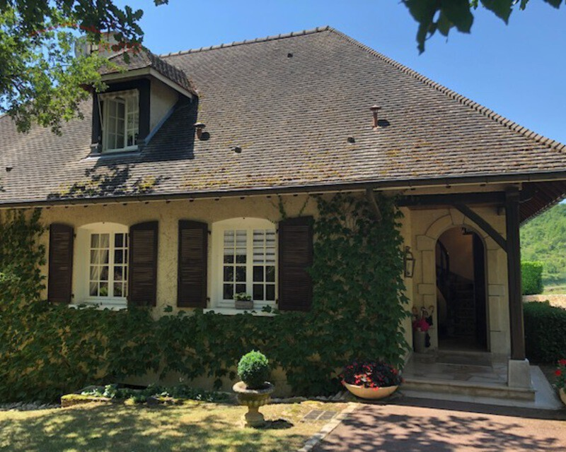 Chalon ouest, Givry Chenévres vends luxueuse villa    - Img 5055