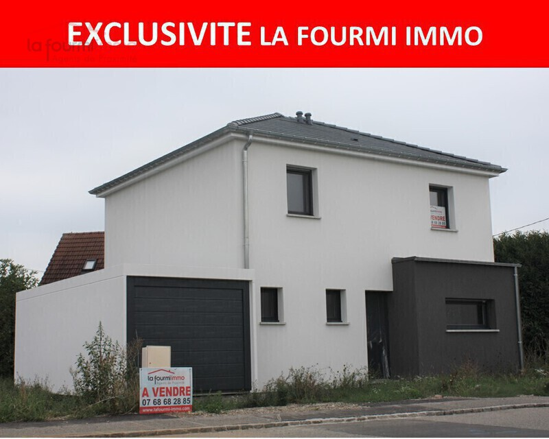 Maison individuelle 5 pièces en cours de construction à Reiningue - Photo de pr sentation exclusivite
