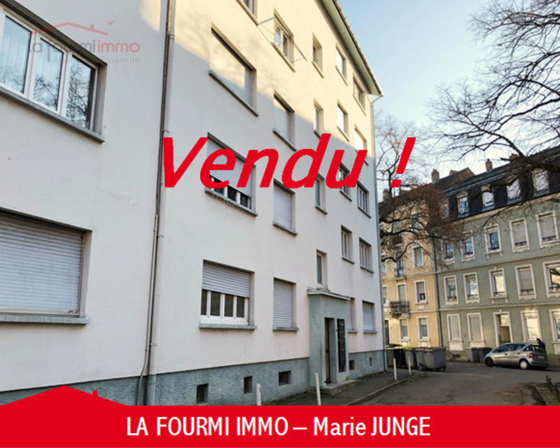 Appartement F3 Mulhouse - Immobilier marie junge guebwiller immo vendu haut rhin