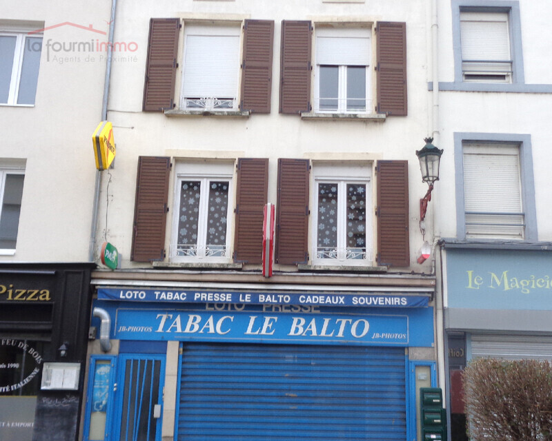 Vends à Boulay, Immeuble de 2 appartements et Local Commercial - Facade le blato