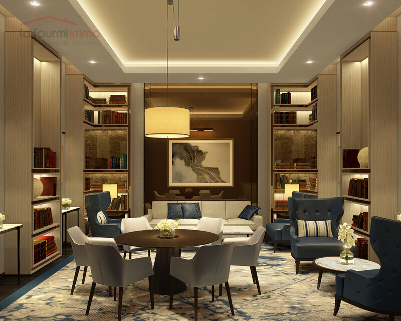 Dubai, Appartement T1, neuf  - 04-the-academy-library