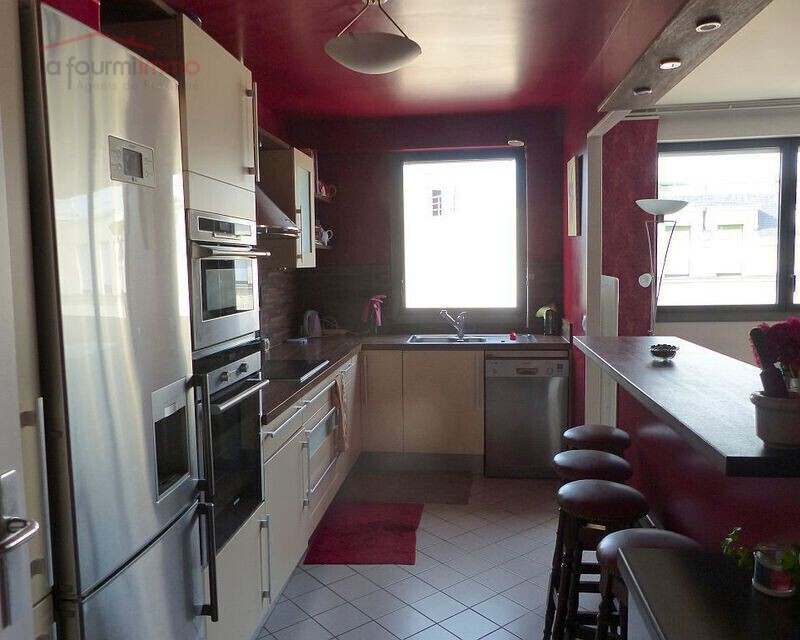 Paris 14eme. Denfert Rocherau. Appartement 108 m². - Cuisine