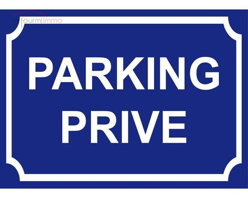 Parking   12 M² sécurisé. - Parking-prive-panneau-300x200mm
